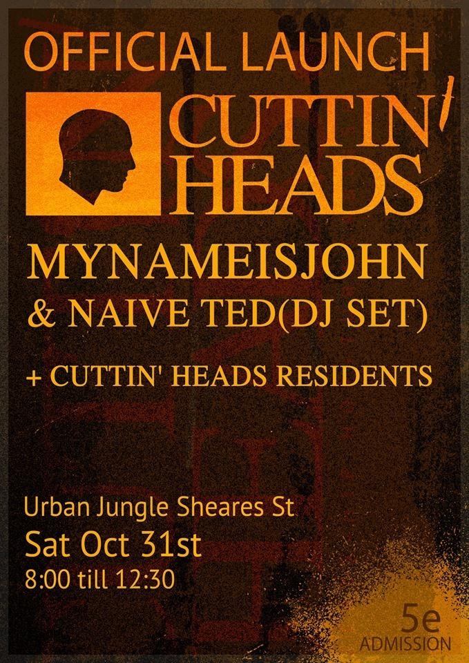 cuttin heads LAUNCH